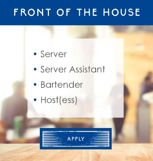 Rocca Tampa front of house jobs